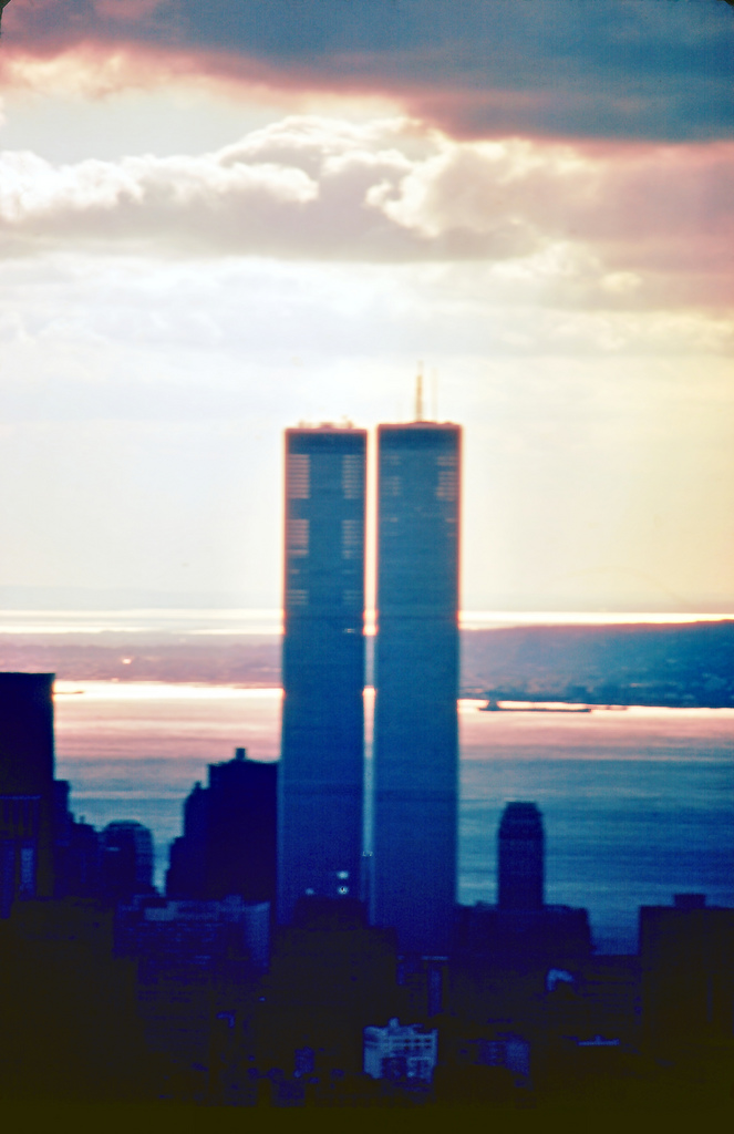 Outside energy had to be introduced for the twin towers to for How many floors twin towers