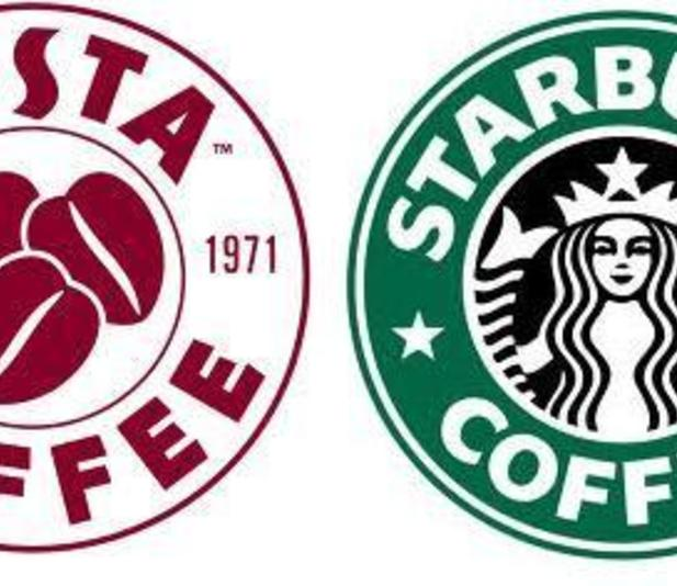 starbucks vs costa edited The major players today covering market share all over the world are starbucks coffee, barista coffee, café coffee day, costa coffee, etc for this study, the two retailers - starbucks coffee and costa coffee are chosen because of their identical pattern of functioning and growth.