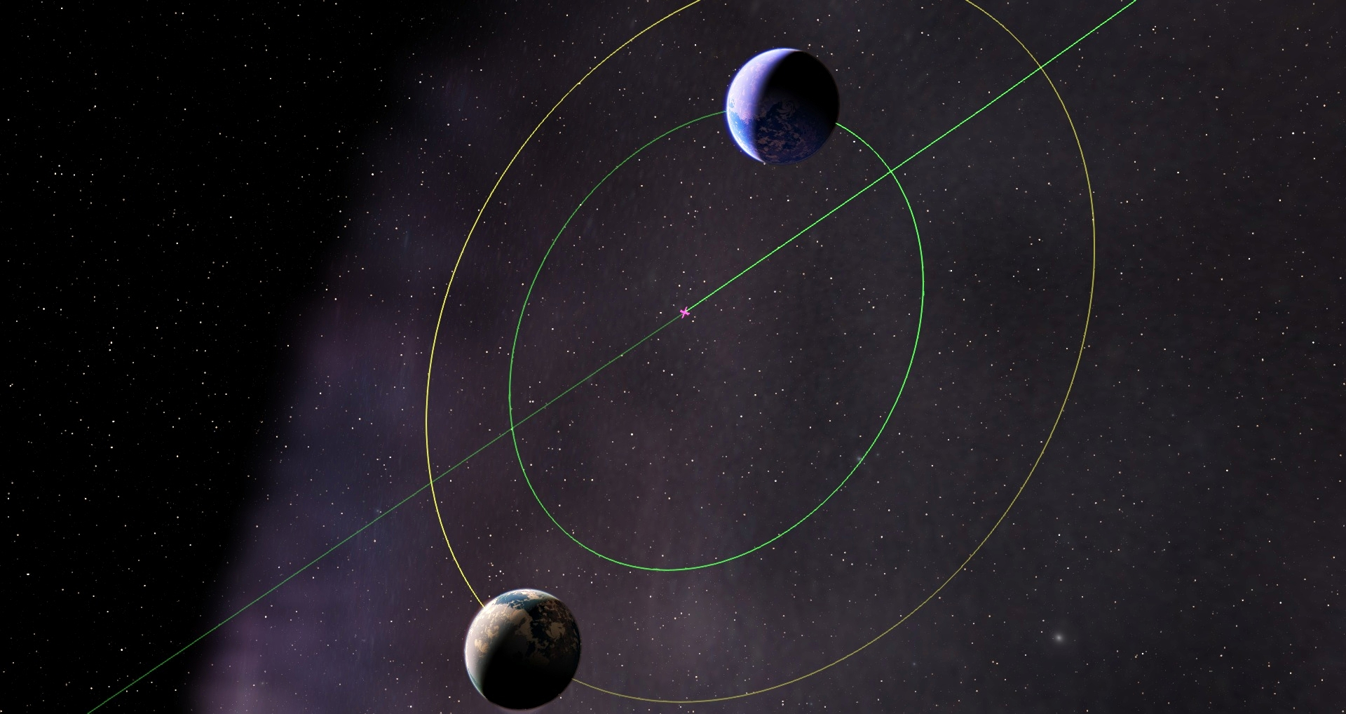 What if there were two earths (or earth like planets ...