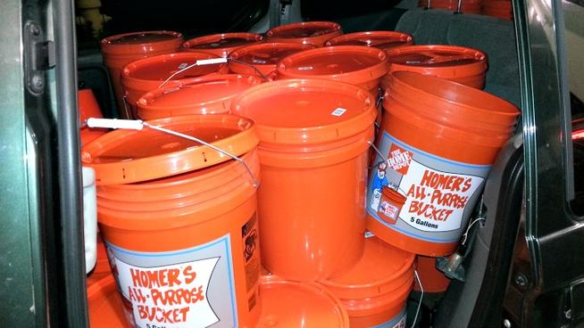 Ny Man Charged With Hoarding Gas In Home Depot Buckets Page 1