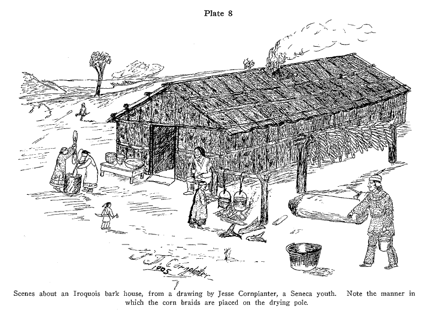 native american longhouse coloring pages - photo#10