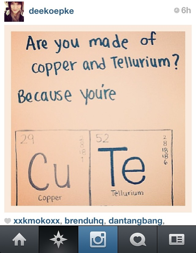 Periodic table pick up lines chemistry pick up lines yahoo mtm periodic table pick up lines download urtaz Choice Image
