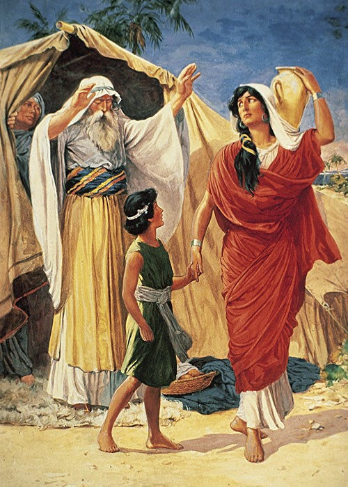 the biblical story of sarah and abraham and their child isaac And that is the story of sarah's life with abraham around to poke fun at isaac and sarah got upset to their own husbands thus sarah obeyed abraham.