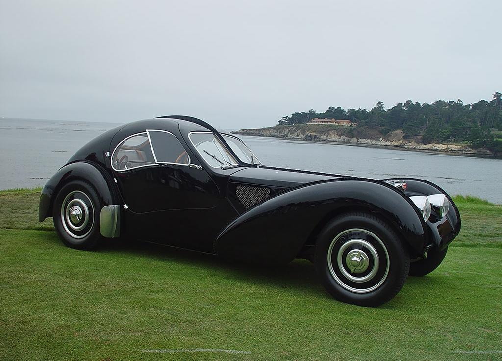 Bugatti z type real life images for American classic realty