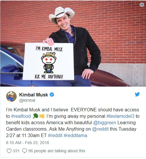 Elon Musk's brother Kimbal: This was the 'best decision of