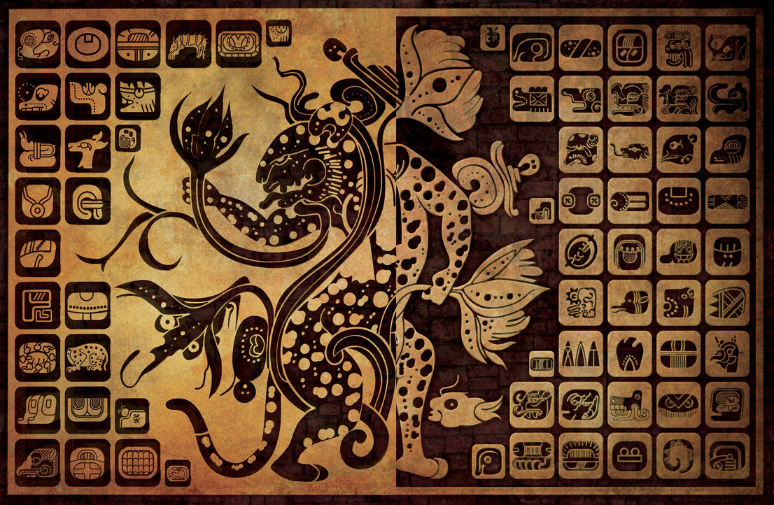 Mayan Writing System - Viewing Gallery