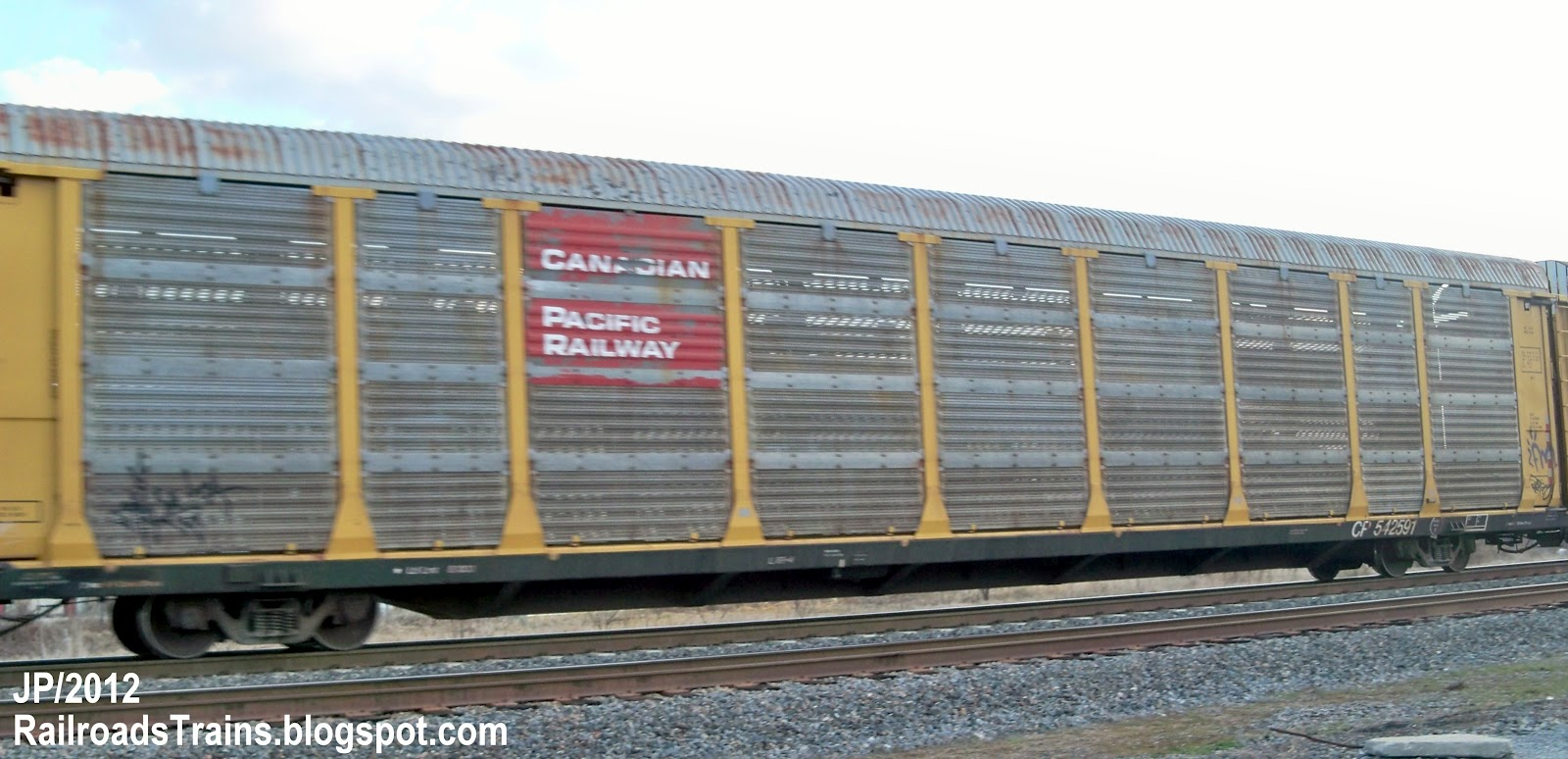 What Is An Empty Fema Mile Wide Auto Max Train Doing In Toronto