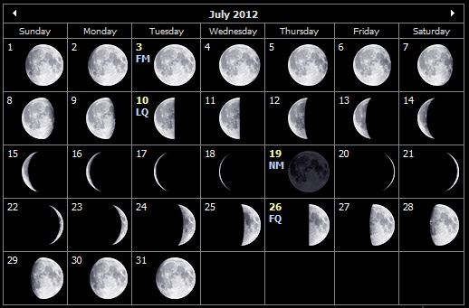 Phases of the Moon and Shootings