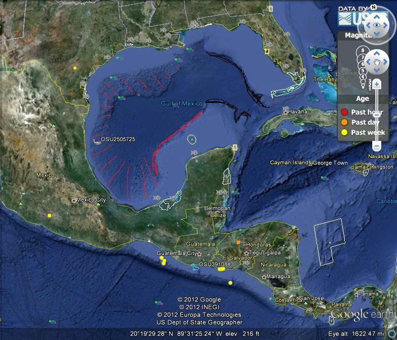 Gulf of Mexico Asteroid Crater (page 3) - Pics about space