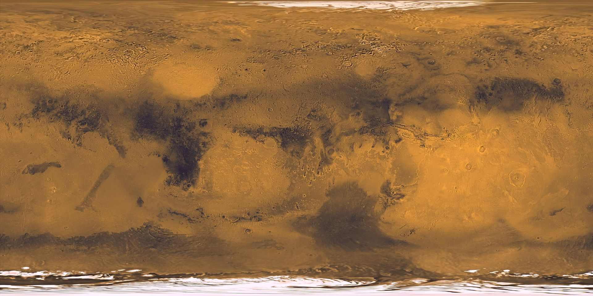 Mars Earth A Comparison of Surface Maps And Some Questions page 1