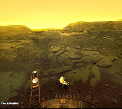 surface of venus russian probe - photo #3