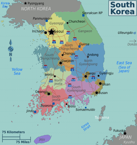 Korea  Status Of United States Forces And Early Signs Of Changes - Us military bases in south korea map