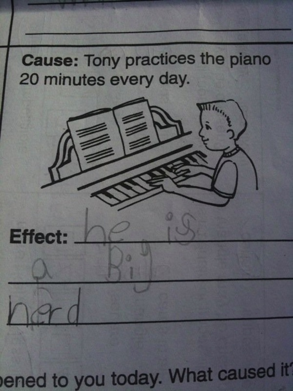 38 Test Answers That Are 100% Wrong But Totally Genius ...