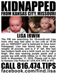 Lisa Irwin - Missing - One Year Later