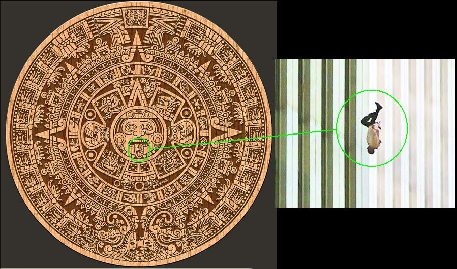 Year Zero Calendar : Mayan calendar days and years end of page