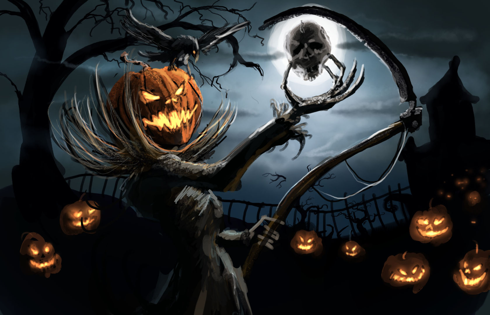 Halloween Spooky Pictures.41 Spooky Facts About Halloween Page 1
