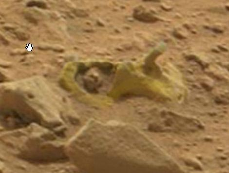 Rocks or Fossils on Mars–NASA pics from Sol 107, 108, 109 ...