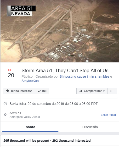 Area 51 Raid has now passed 265K Signatures. Do you expect ...
