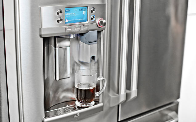 USD 3,300 refrigerator has a Keurig coffee maker built in...really..., page 1