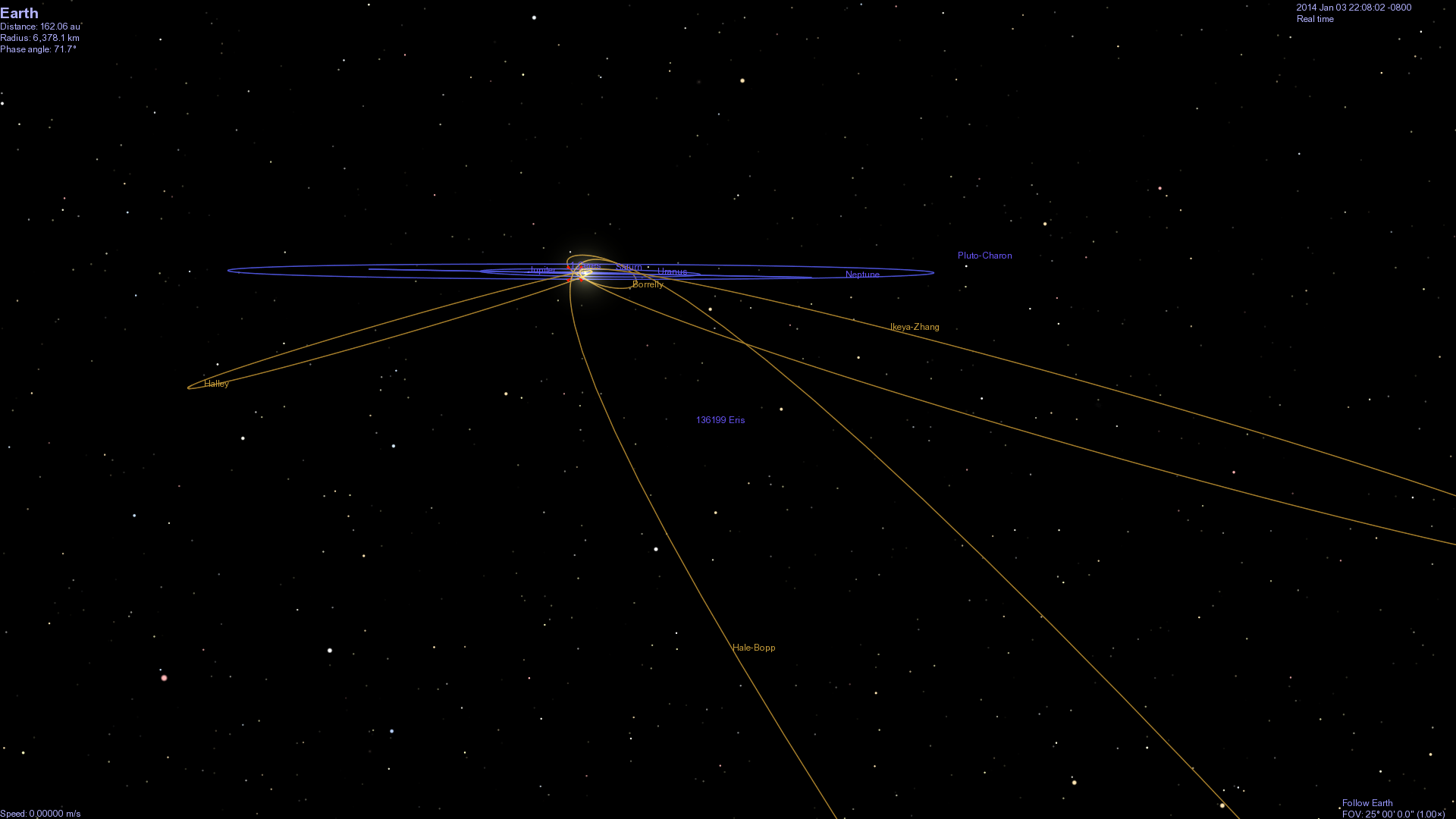 comet ison to hit earth - HD 1920×1080