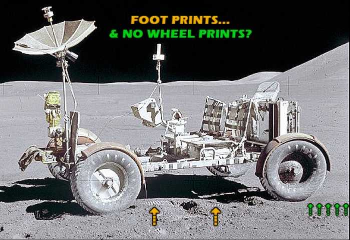 Remastered And Stabilised Film Of Apollo 16 Lunar Rover