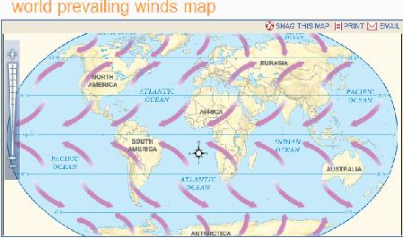 Beautiful World Prevailing Winds Map Pics - Printable Map - New ...