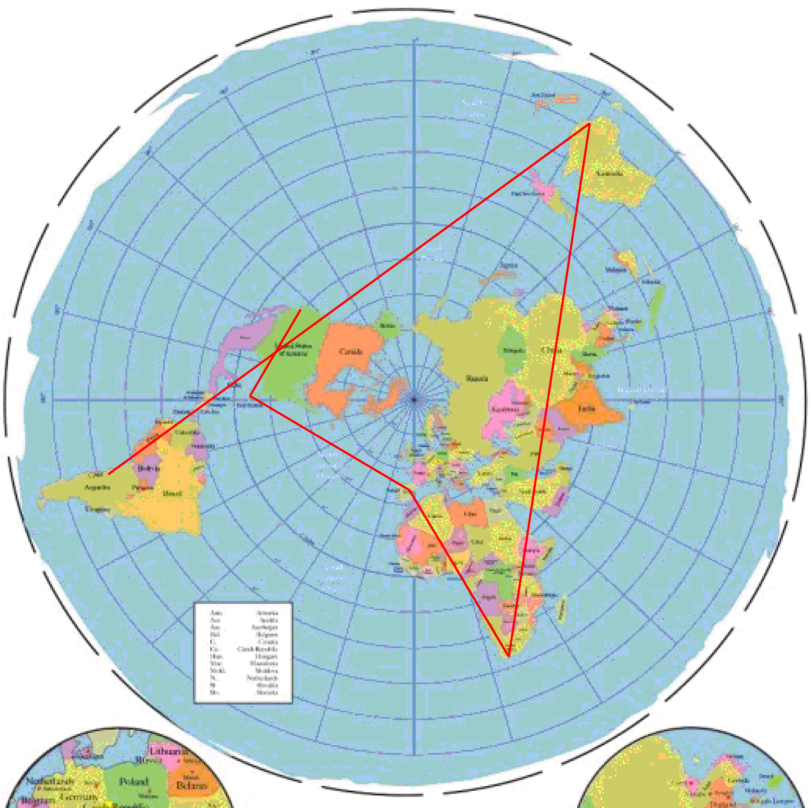 I am in utter disbelief that this flat earth nonsense has gained and then comparing flight time data with the flat earth map vs the official story world map things dont add up gumiabroncs Gallery