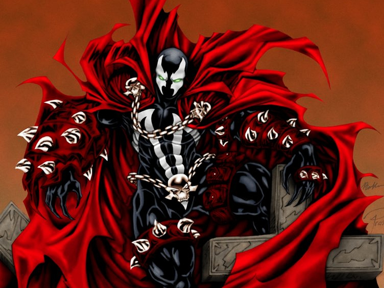 Spawn Vs. Carnage, page 1 Dominant Man In Suit