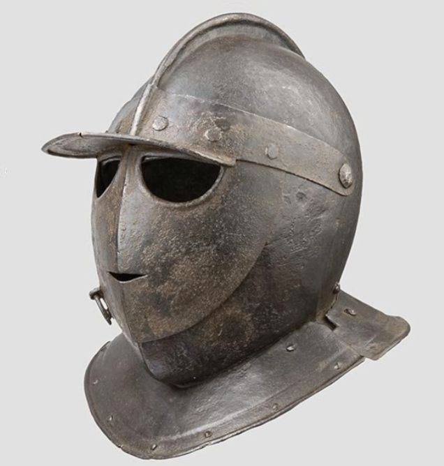 The Weirdest and Fiercest Helmets from the Age of Armored