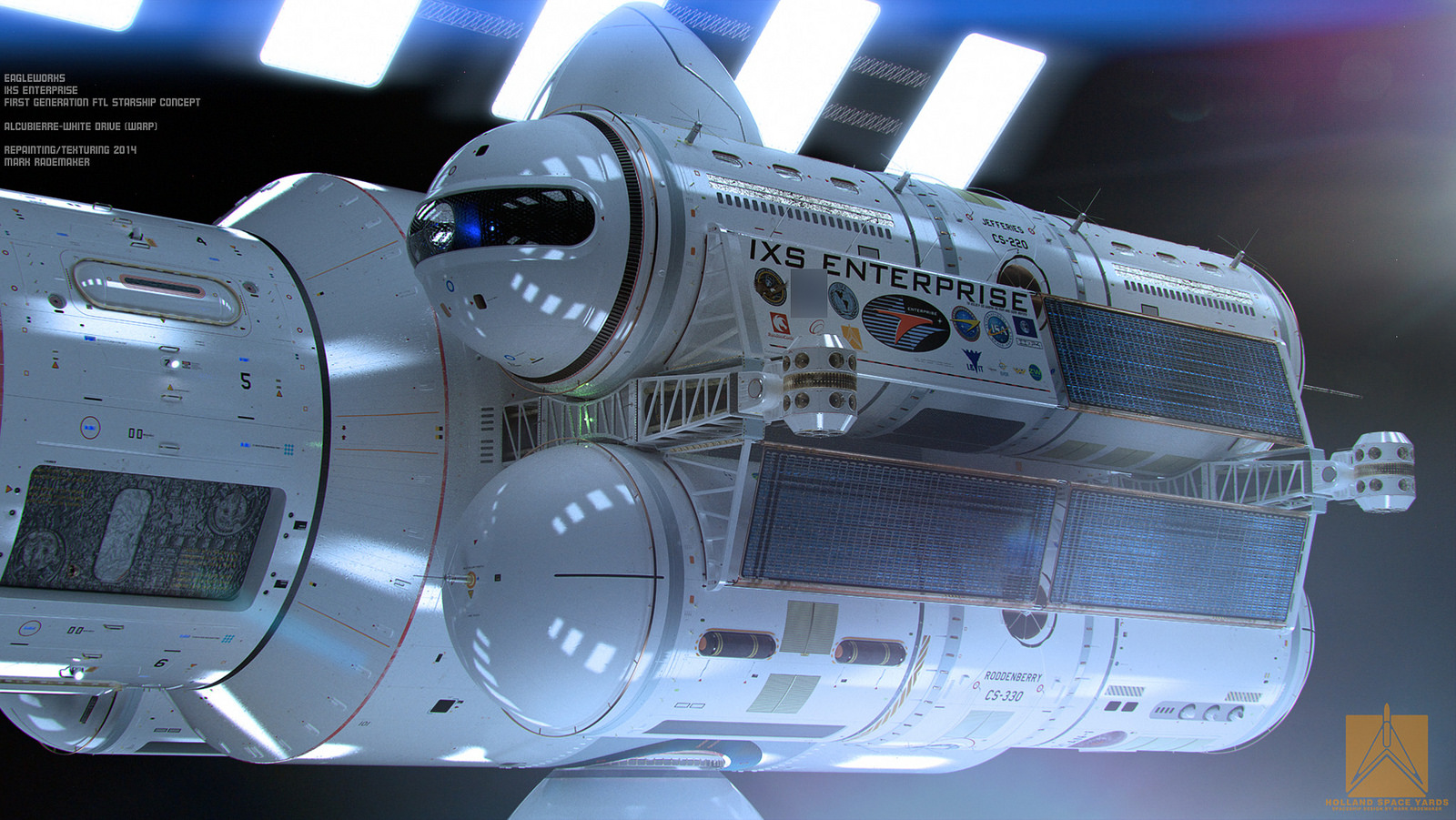 NASA scientists reveal 3D model of warp drive ship that ...
