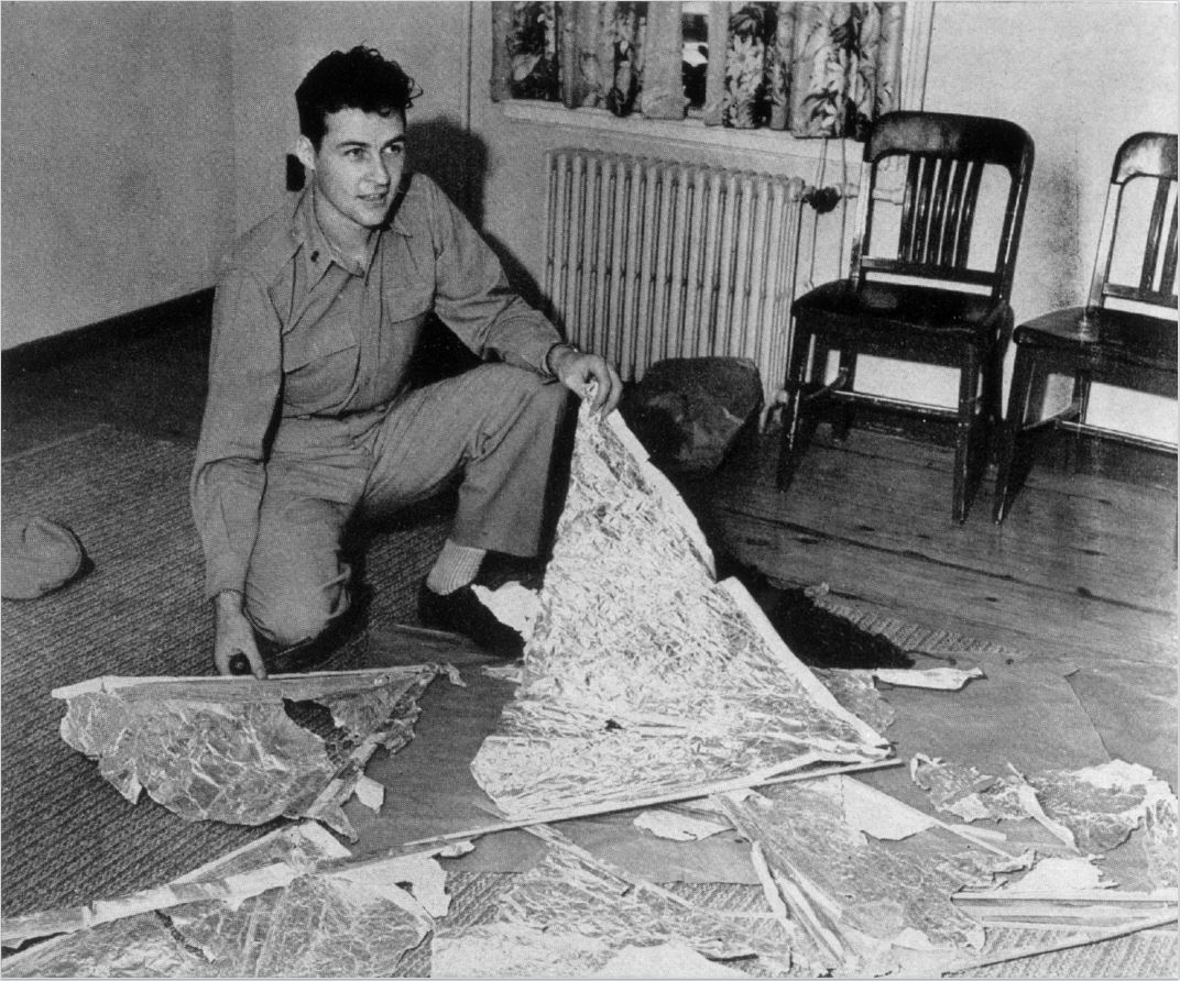 an analysis of the 50th anniversary of the alleged crash at roswell