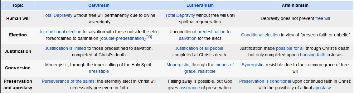 """orthodox calvinism position One position, following the wesleyan tradition, says that sin is a """"willful transgression of the known will of god"""", while another is more calvinistic position is a."""