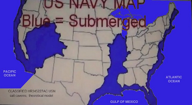 Navy Map Of Future Us Navy Map Of The United States - Us navy map of future of mexico