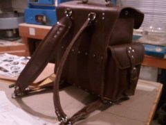 make your own leather Backpack, page 1