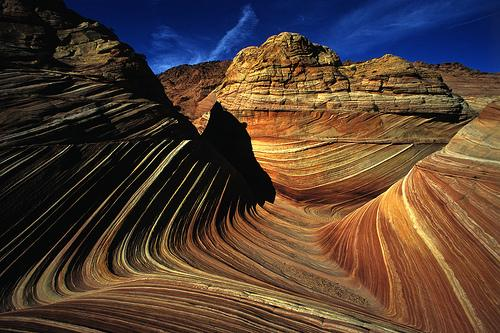 A Truly Fascinating Landscape This Formation Int Hat Area And Described As The Wave Is Devided Into 2 Coyote Es North