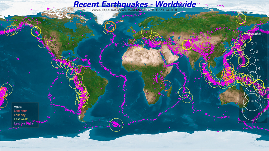 Earthquakes are proof of a expanding earth page 1 gumiabroncs Gallery