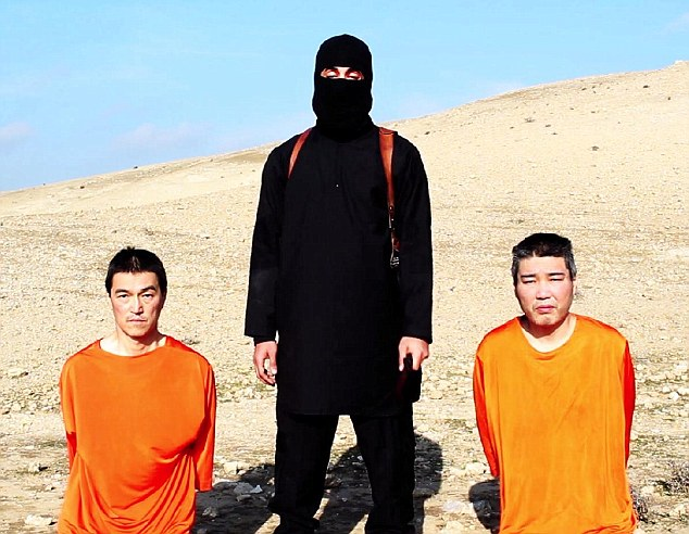 Did japanese isis hostage travel to syria after suffering a breakdown