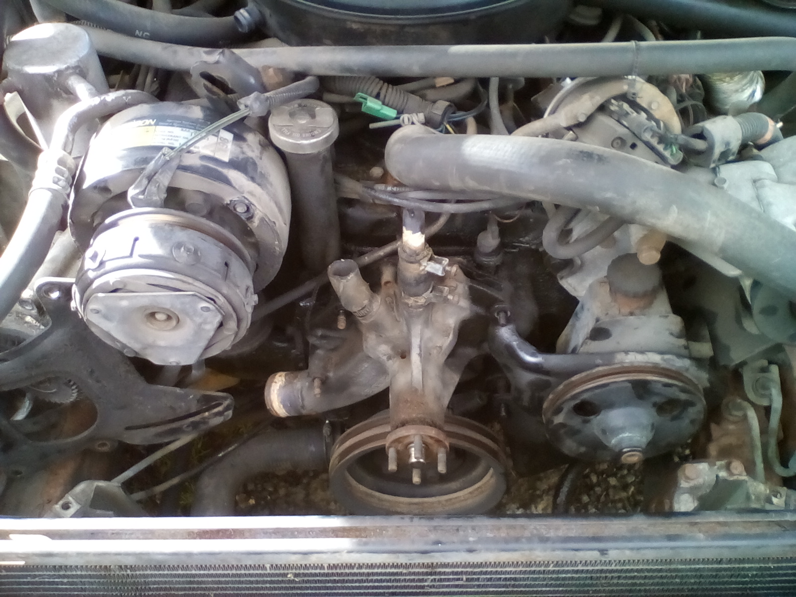 Need Help With 1986 Pontiac Parisienne  Belt Removal