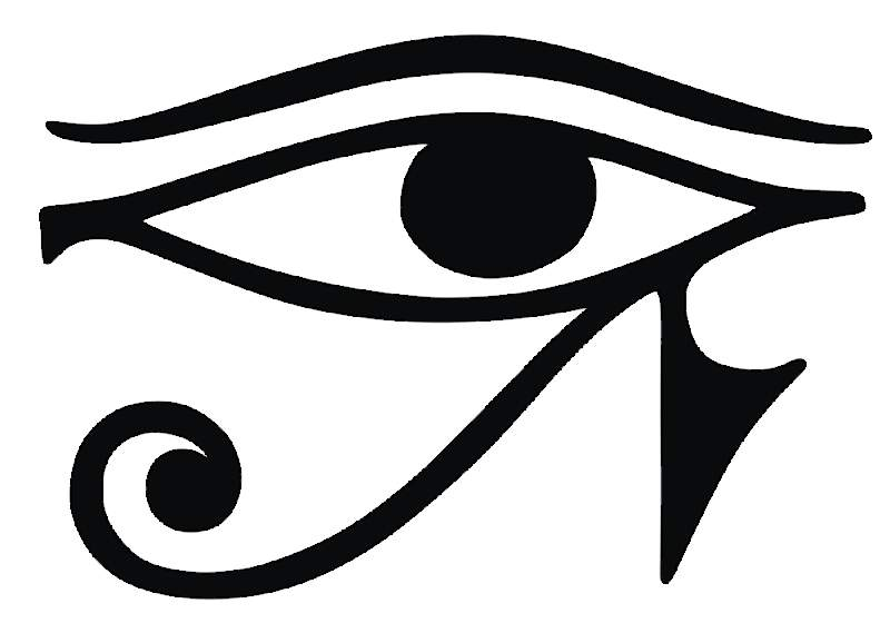 egyptian eye of raw