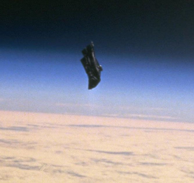 Black Knight Satellite UFO