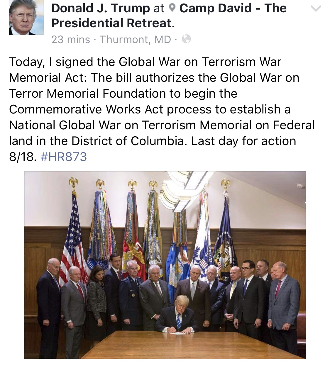 terrorism a global war A national global war on terrorism memorial today marks the 16th anniversary of the september 11 terrorist attacks on our country pentagon workers unfurl a large american flag over the west side of the pentagon at sunrise, sept 11, 2017, on the 16th anniversary of the 9/11 terrorist attacks.