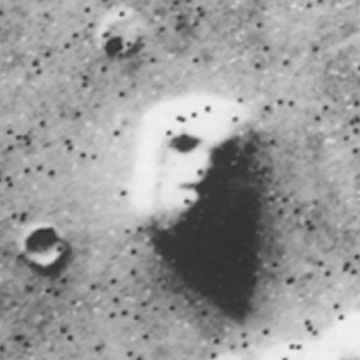 moon face on mars - photo #4
