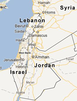 Palestine exists no more at least acoording to google maps., page 1