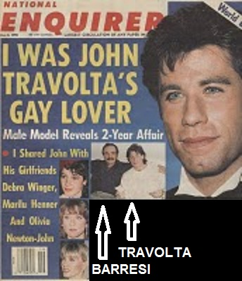 Paul barresi john travolta all