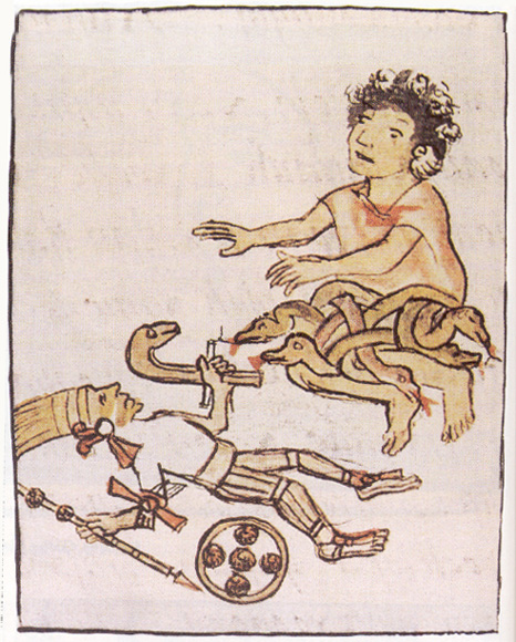 The Aztec and Norse god of war are both missing one hand , page 1