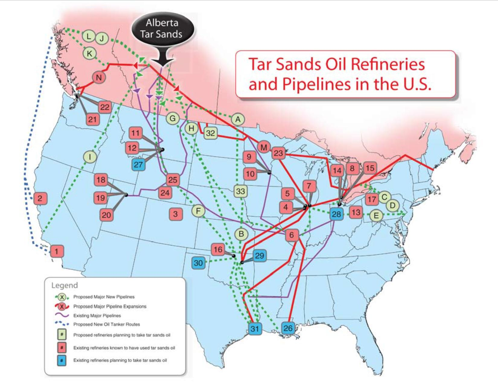 Central America Caribbean And South America Pipelines Map Crude Refineries In Usa Map