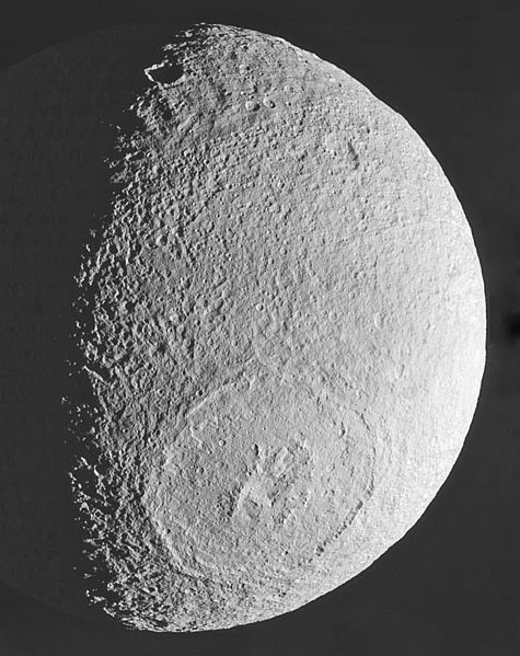 tethys moon of saturn death star page 4 pics about space