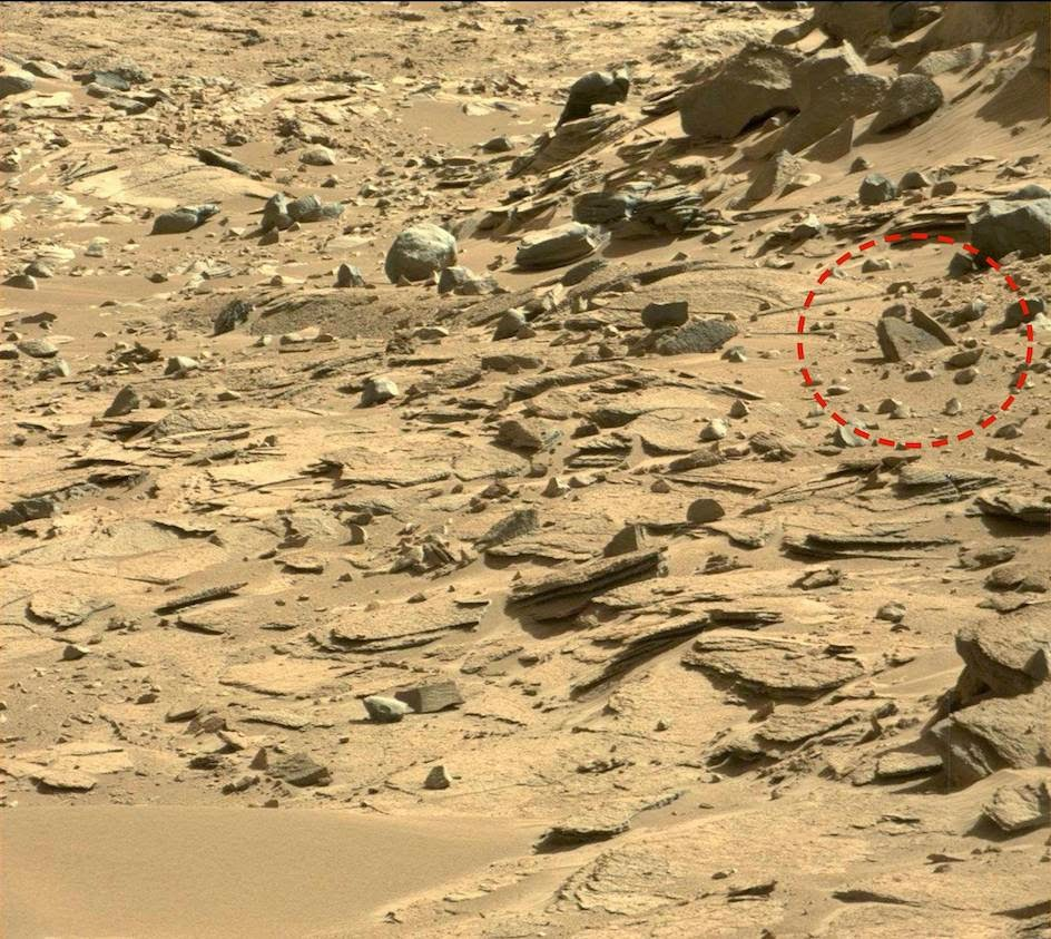 Ancient Bowl On Mars Found By Curiosity Rover, May 2014 ...