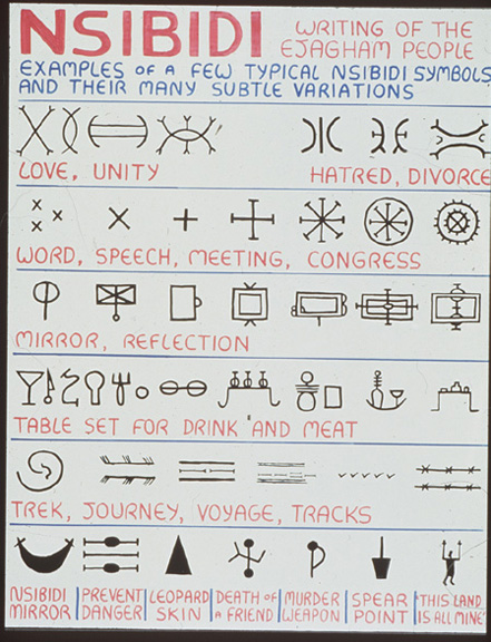 inscribing meaning writing and graphic systems in african art