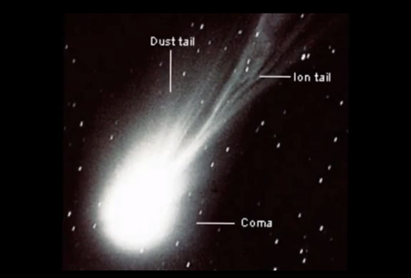 Three Main Parts Of A Comet Pictures to Pin on Pinterest ...